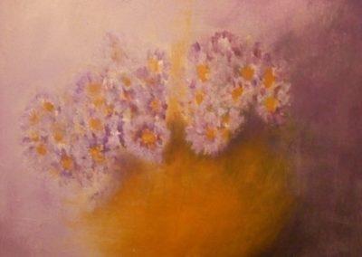 Vaso con fiorellini viola – Cod. NM11